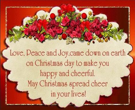 Love, Peace and Joy - Christmas - Introspective World