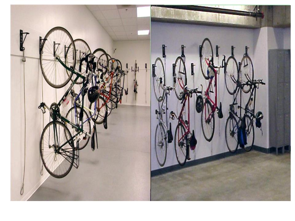 Bike Storage Solutions In San Francisco Wall Mount Bike Brackets