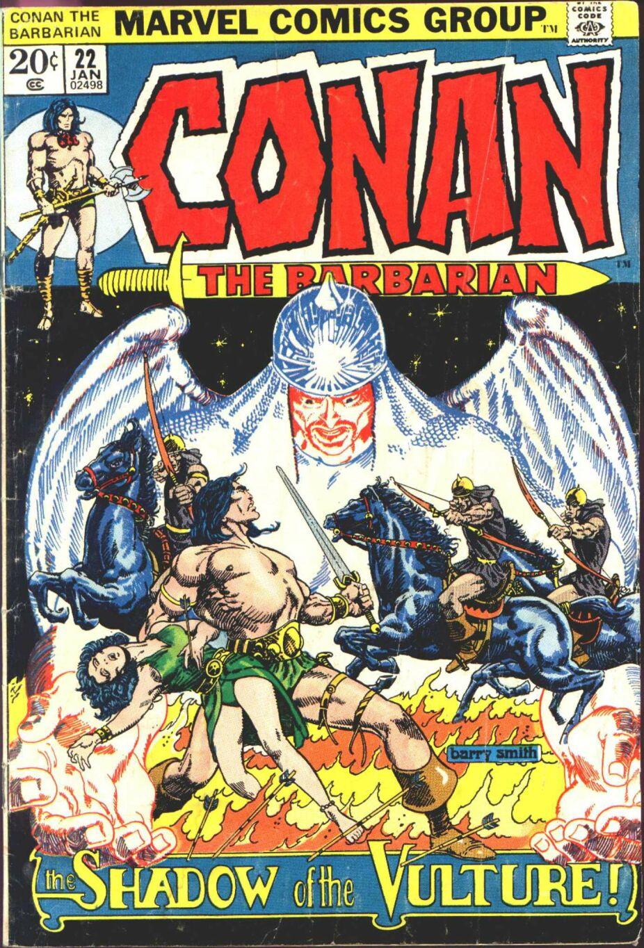 Conan the Barbarian (1970) Issue #22 #34 - English 1