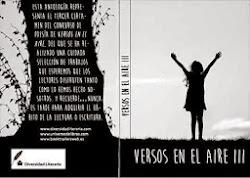"""Premio """"Versos en el aire III"""" 2014"""
