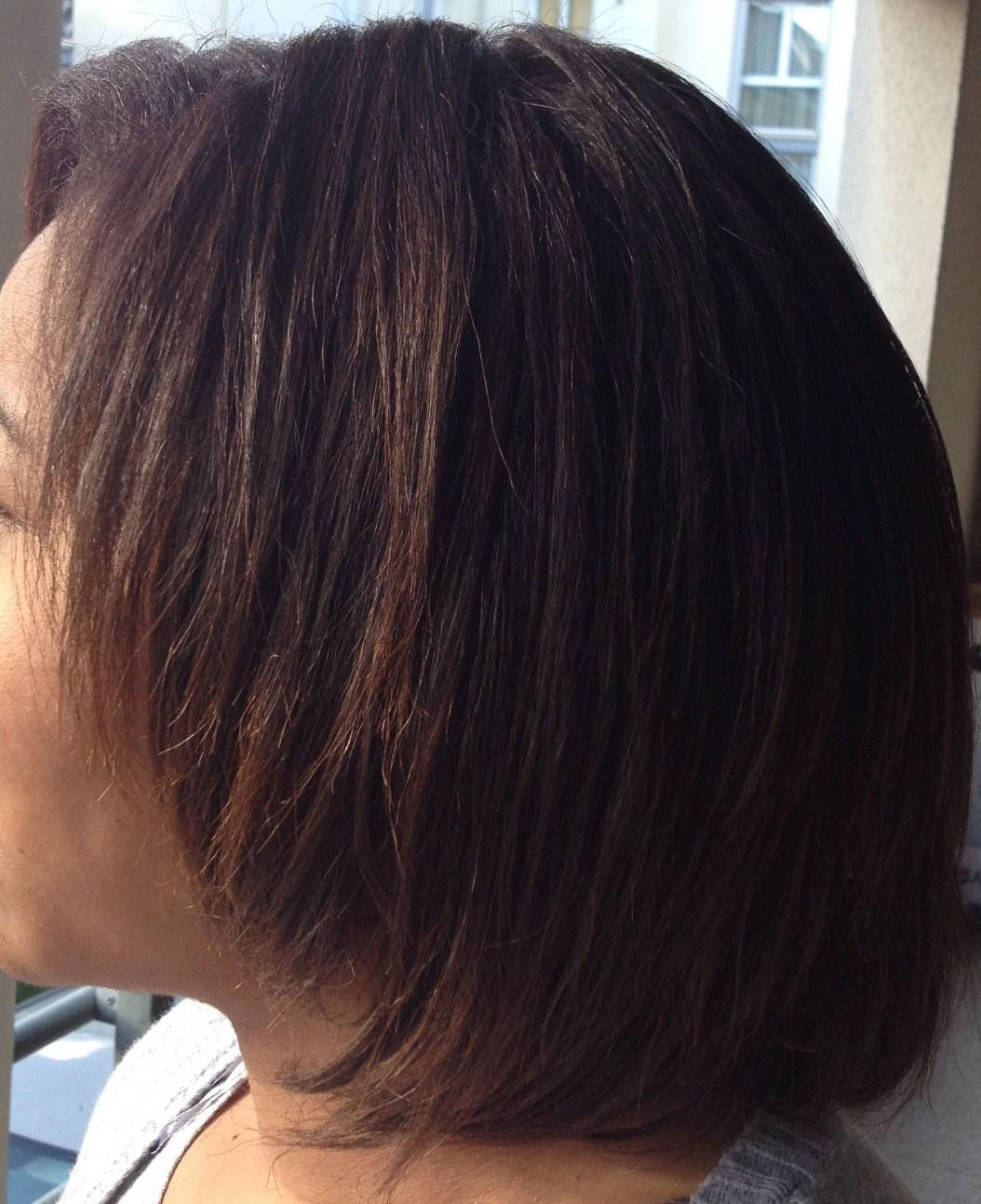 Couleur sur cheveux defrises