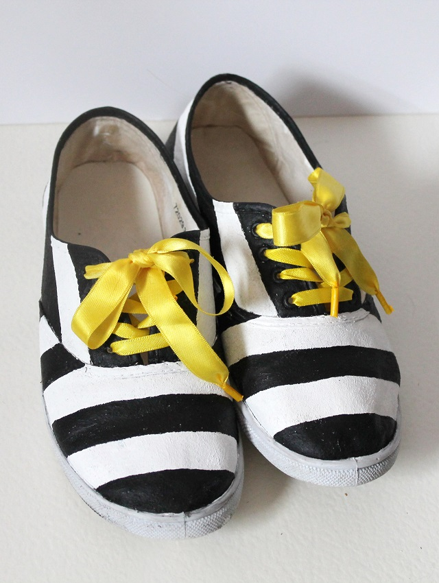 how to make ribbon shoelaces