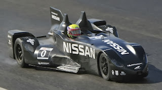 DeltaWing race car test drive