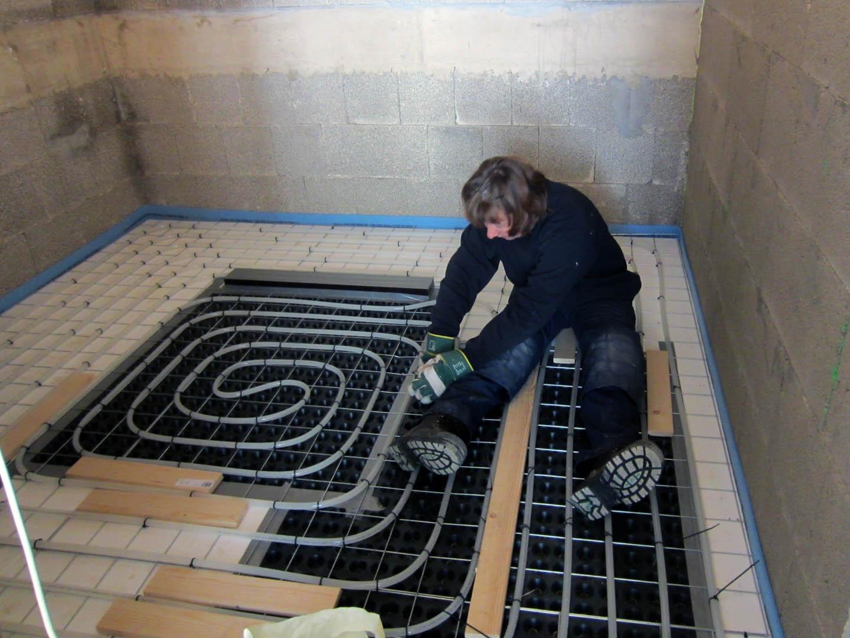 Vloerverwarming Badkamer Retourleiding : Alex en marjon februari vloerverwarming