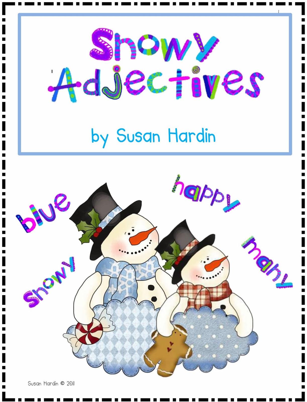 http://www.teacherspayteachers.com/Product/Snowy-Adjectives-173497