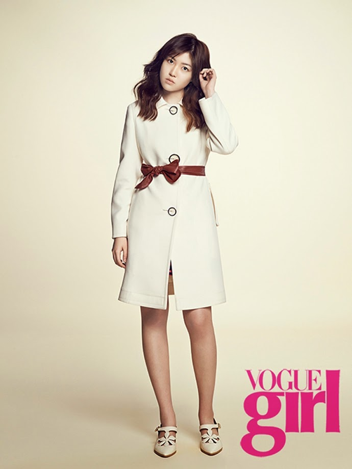Shim Eun Kyung - Vogue Girl Magazine February Issue 2014