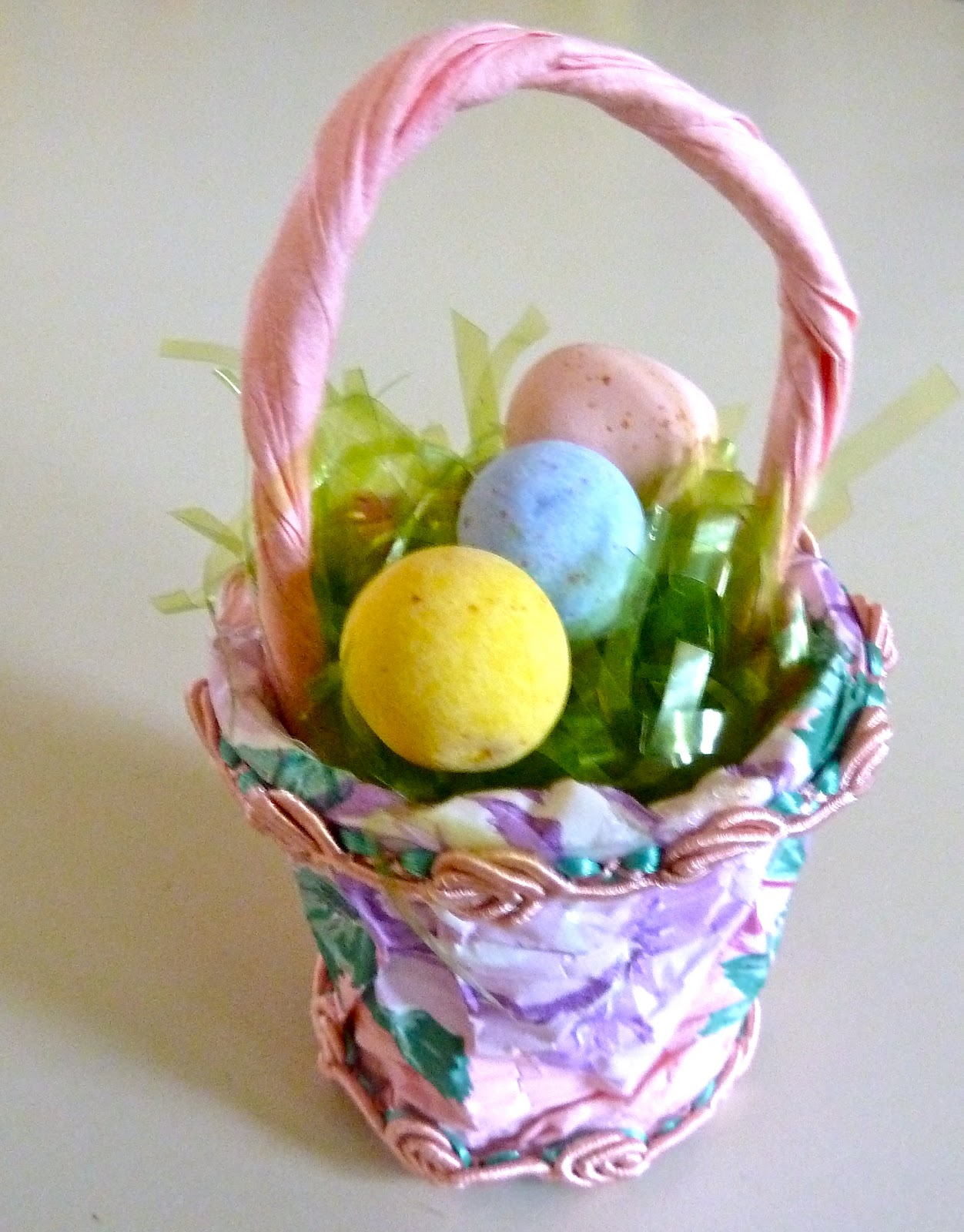 Make it easy crafts recylced k cup mini easter basket party favor recylced k cup mini easter basket party favor tutorial negle Image collections