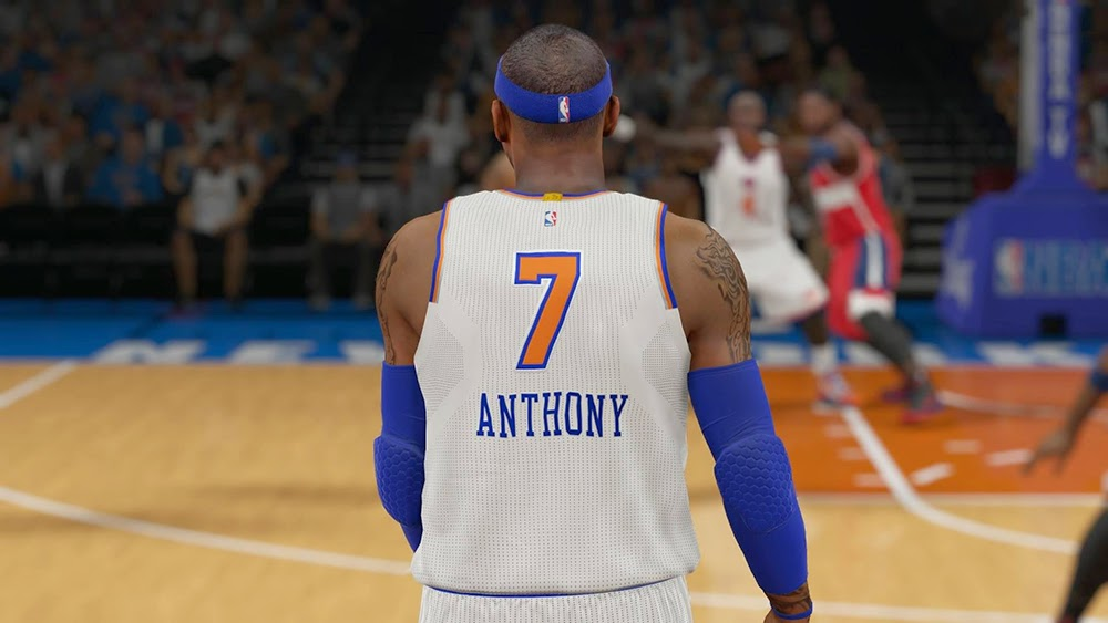 New York Knicks Christmas Jersey | NBA 2K15