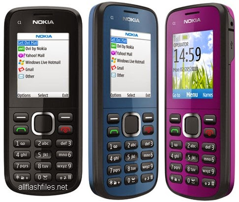 Nokia C1-02 (RM-643) Latest Flash File/Firmware Download Free