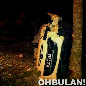 Aida AF9 Kemalangan Teruk, Barang Berharga Dicuri