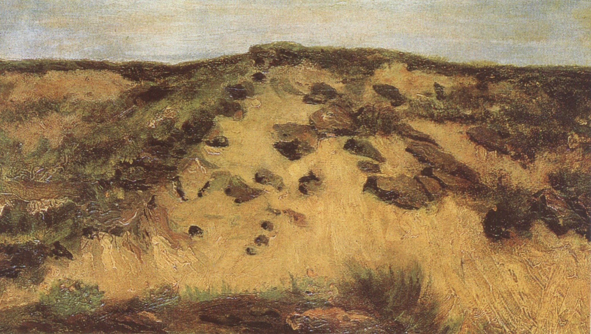 Dunes by Vincent van Gogh
