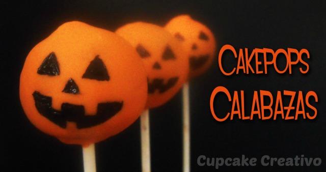 Tutorial Cakepops de Calabazas de Halloween