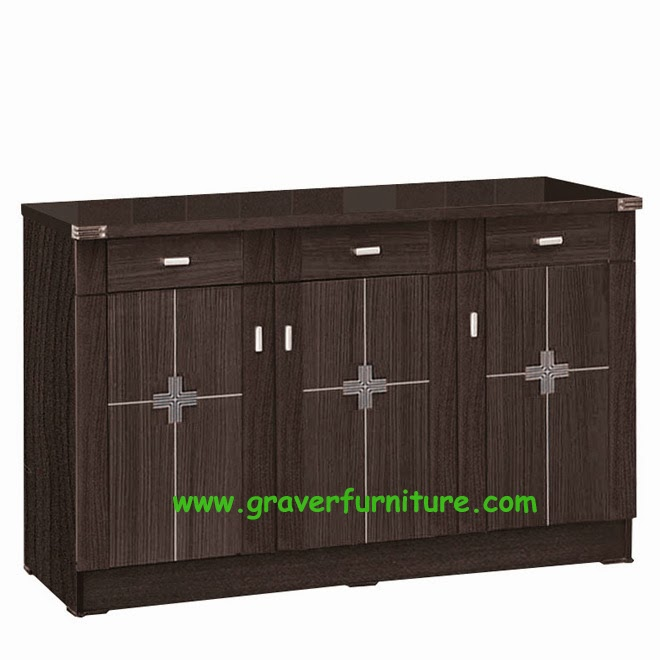 Kitchen Set Bawah 3 Pintu KSB 2853 Graver Furniture
