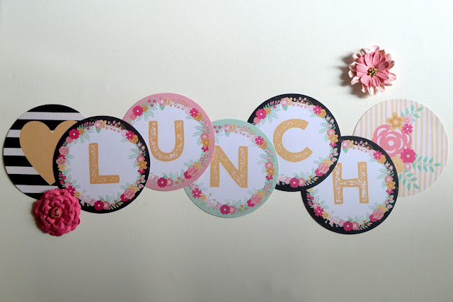Everything is awesome lunch party for two  by Agnieszka Bellaidea featuring You're invited collection by BoBunny