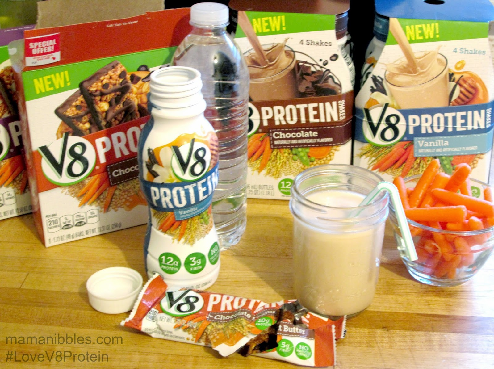#LoveV8Protein #CollectiveBias #ad #shop