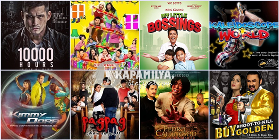 8 films, featuring in MMFF