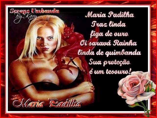 Pomba Gira do Fogo - Magazine cover