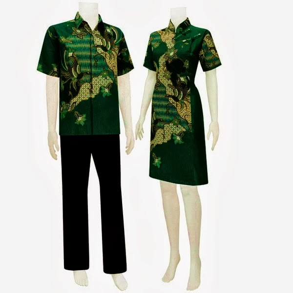 batik sarimbit dress