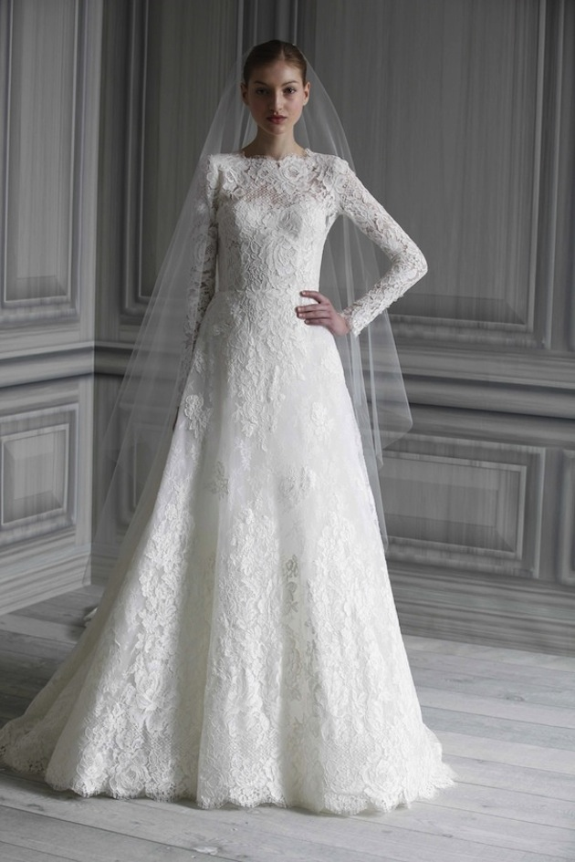 White Wedding Dresses With Sleeves - Wedding Accessories Direct