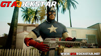 GTA SA - Mini Pack de Skins Capitão América