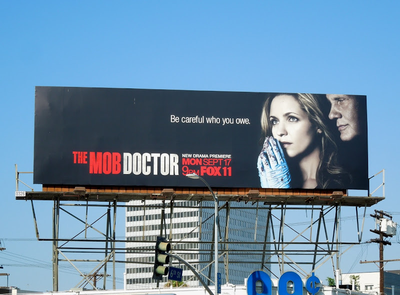Mob Doctor series premiere billboard