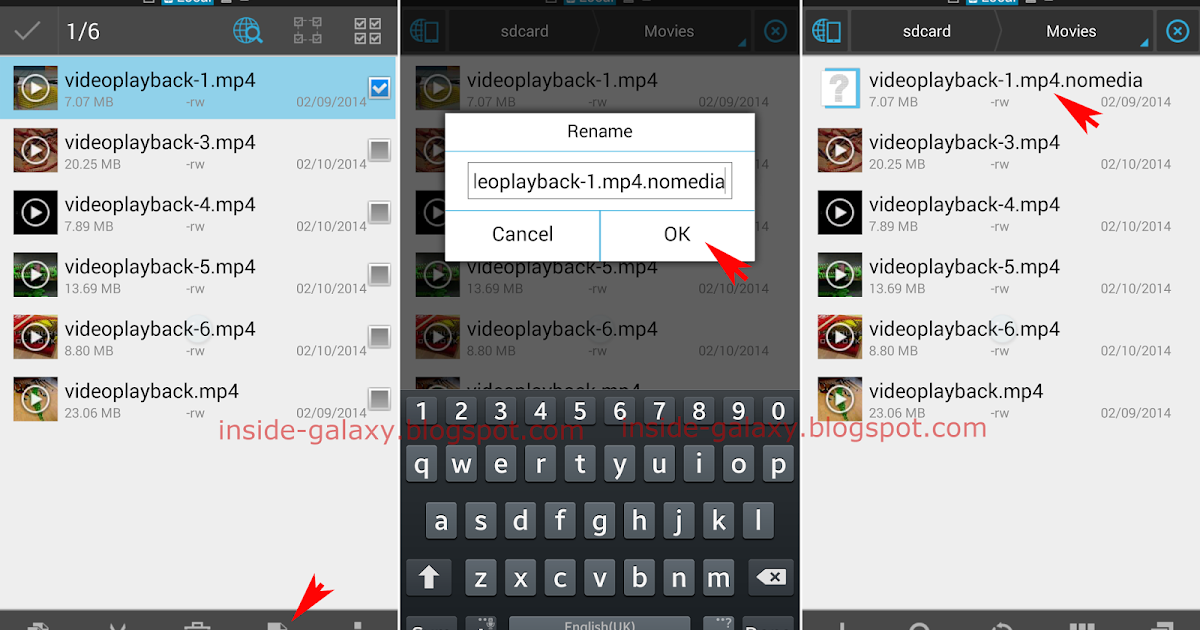 how to find videos in samsung s4