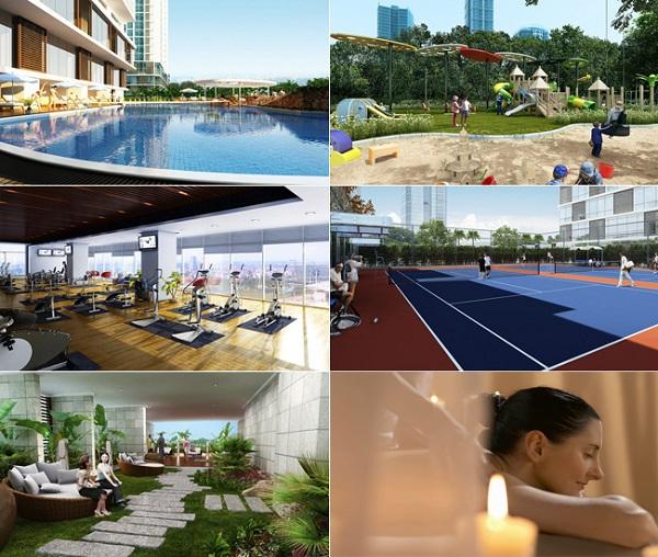 Hạ tầng quy hoạch đầy đủ khu vui chơi giải trí,  trường học, dịch vụ y tế, chăm sóc sức khỏe