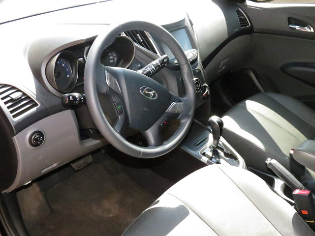 Hyundai HB20 1.6 - interior