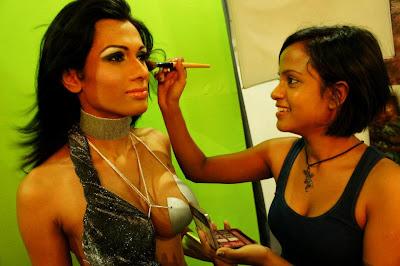 Srilankan Hot Models Sexy Mekup