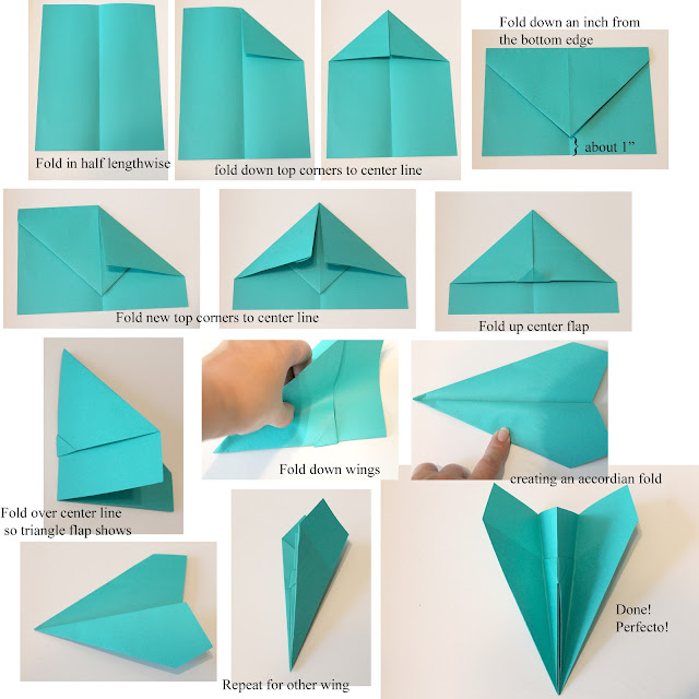 Doodlecraft astrobrights paper airplanes for How to make paper things easy step by step