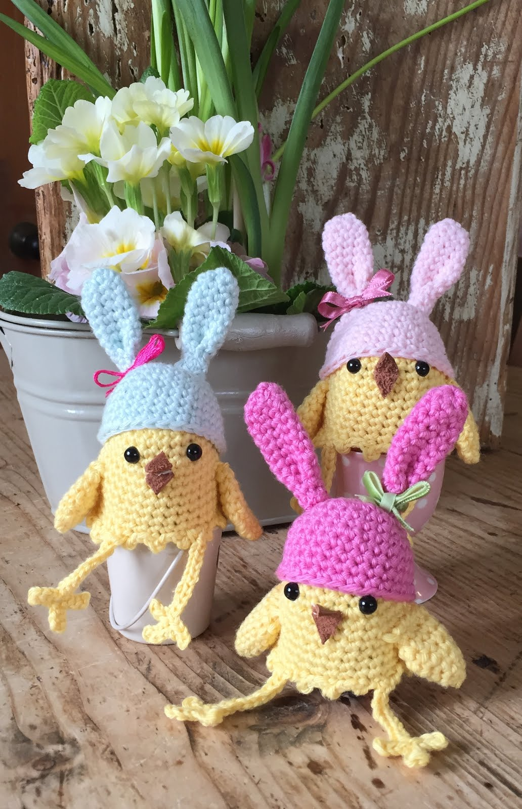 Easter Chick Egg Cosies