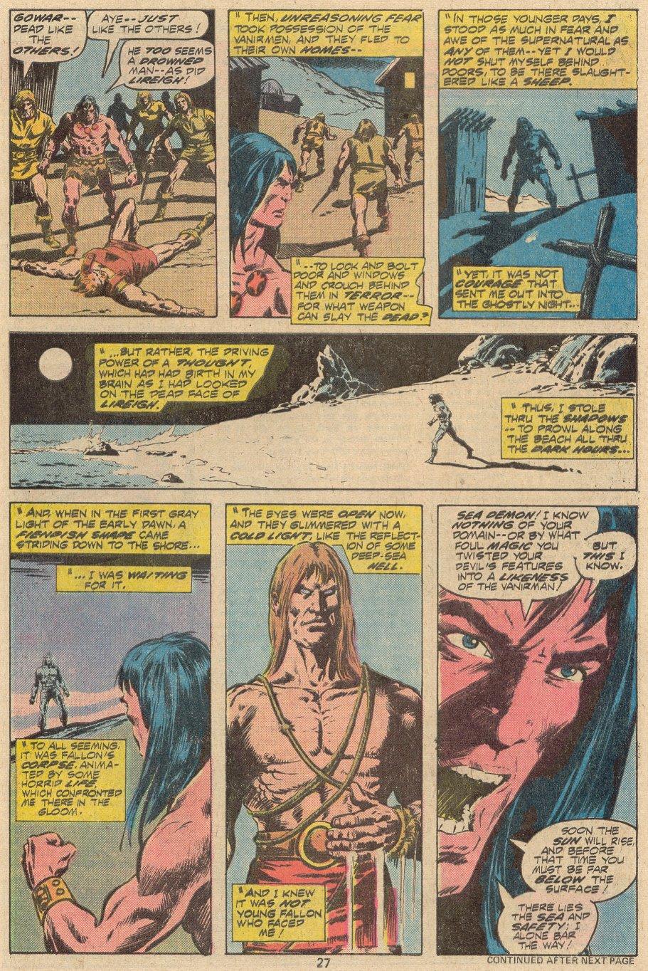 Conan the Barbarian (1970) Issue #69 #81 - English 17