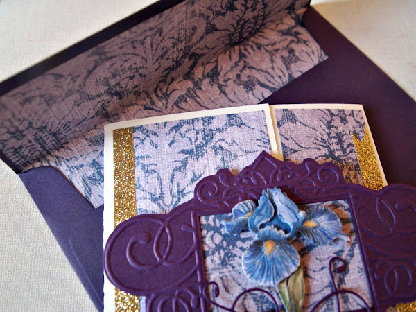 Die Cut, Dry Embossing, and Gatefold Oh My!