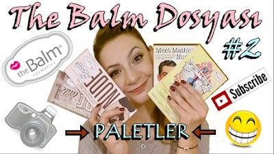 The Balm Dosyası Paletler