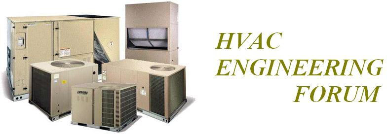 HVAC Engineering Forum