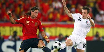 Prediksi Final Spanyol vs Italia Euro 2012