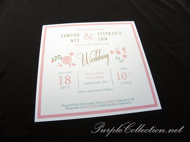 wedding invitation card, printing, Malaysia, pink, white, pearl card, australia, victoria, kuala lumpur, personalised, personalized, affordable, floral, flower, theme, sweet, modern, bespoke, flat card, minimalist, cetak, kad kahwin, simple, handmade, hand crafted, singapore, penang, perak, ipoh, melaka, johor bahru, pahang, kuantan, bentong, kedah, kelantan, perlis, terengganu, sabah, sarawak, miri, bintulu, kota kinabalu, sandakan, tawau, kuching