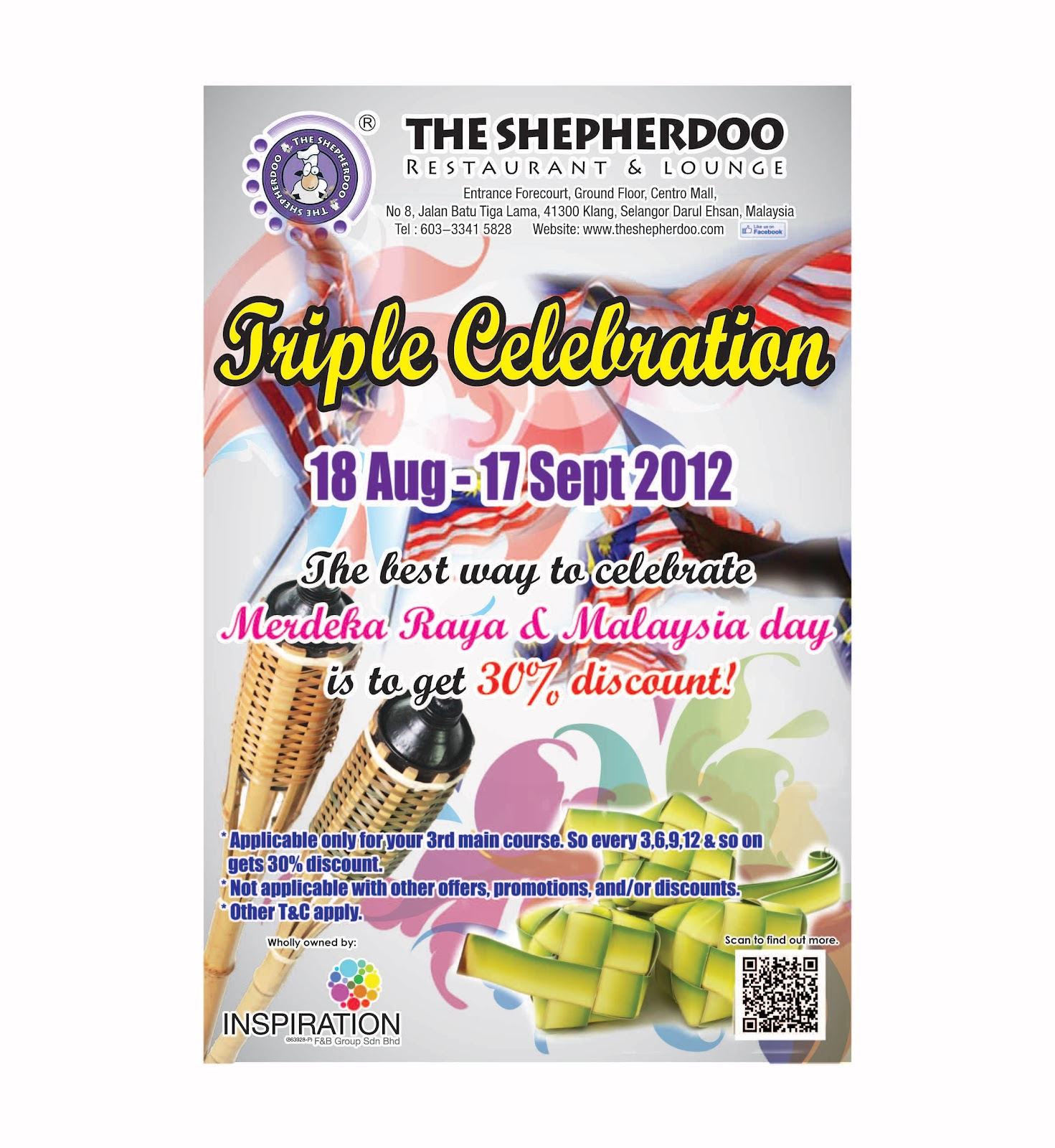 Triple Celebration at The Shepherdoo