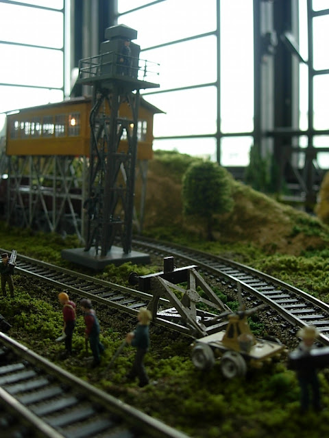 Model Railroad Sanding Tower