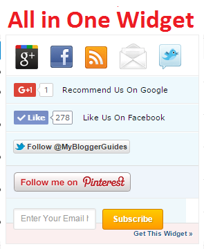 Complete Guide for How To Add All in One Social Media Widget to Blogger