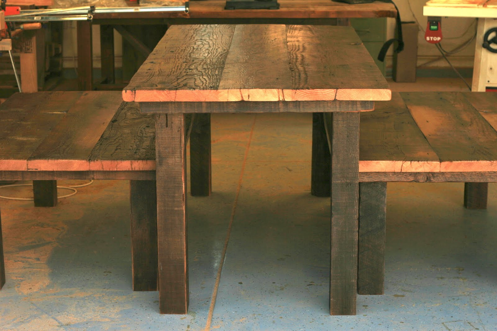 ... Exchange | Reclaimed Wood Furniture: Rustic Tables for Disneyland