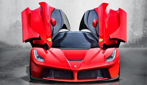 Foto dan Gambar Mobil Sport Ferrari LaFerrari Terbaru