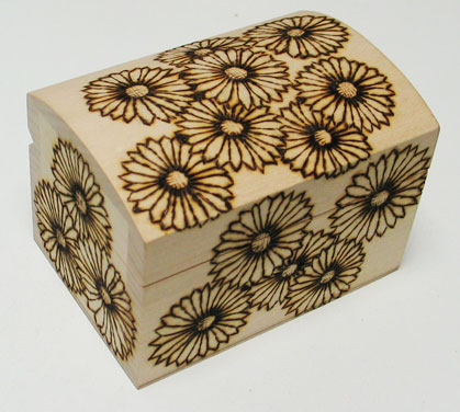 Burning Desire Pyrography And Scroll Saw Treasure Chest