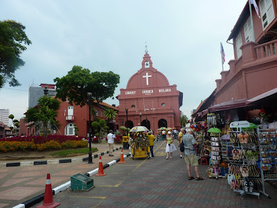 red square Melaka Malaysia
