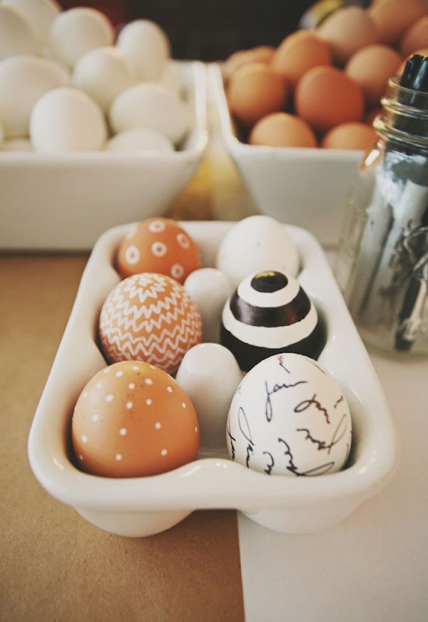Ideas para decorar Easter eggs
