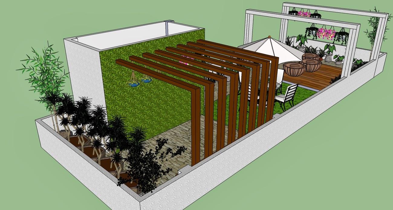 Creation\'s Hut Terrace Garden Planning in process.... Designer\'s ...