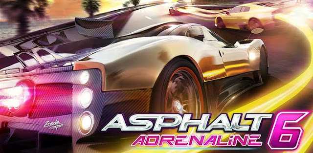 Asphalt 6 Adrenaline apk+ SD Data