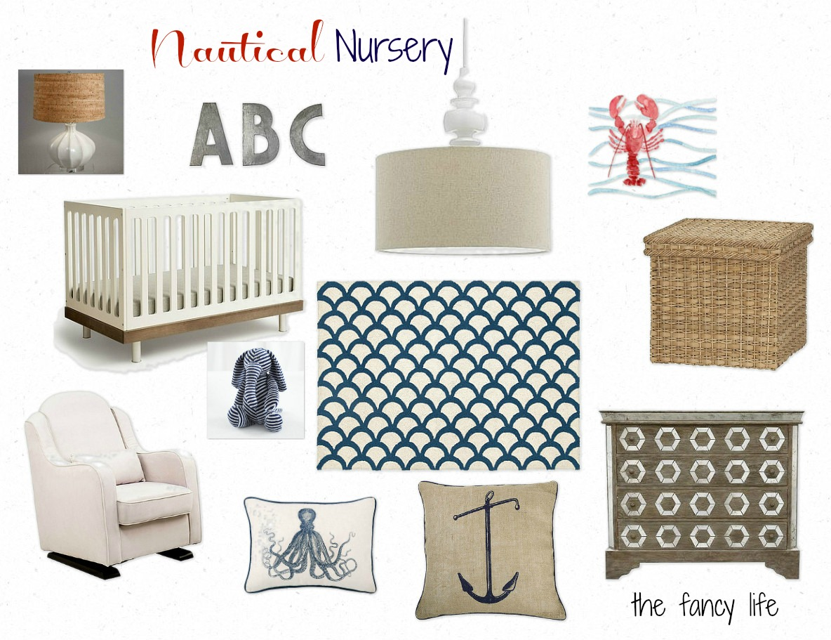 the fancy life nautical nursery. Black Bedroom Furniture Sets. Home Design Ideas
