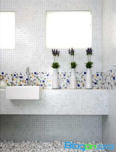 decoracao de interiores banheiros pequenos : decoracao de interiores banheiros pequenos: banheiros pequenos com pastilhas, Dicas de decoração de banheiros