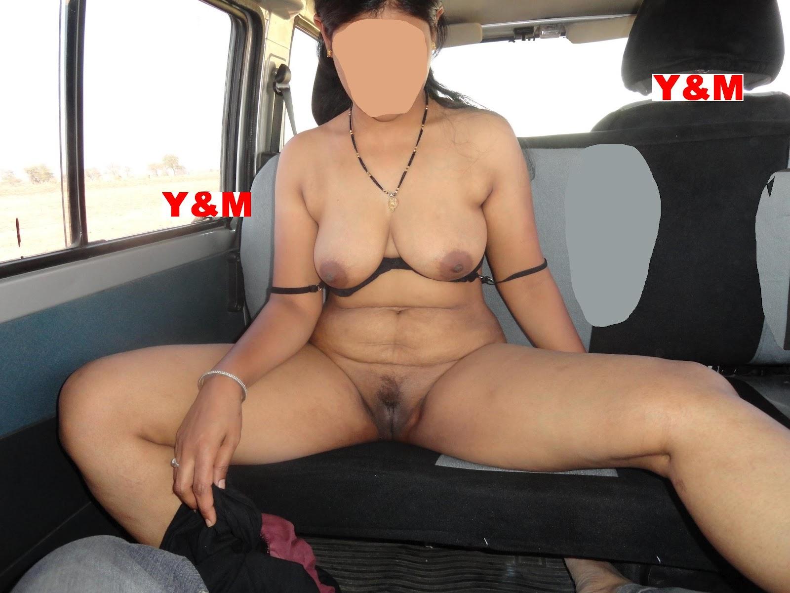 Andhamina Bhamalu Aunty Nude Show At Car
